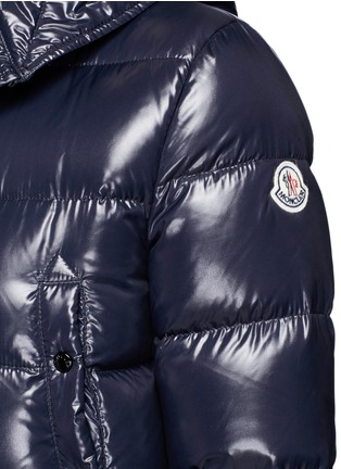 Detail View - Click To Enlarge - Moncler - 'Sotiria' cropped puffer down jacket