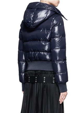 Back View - Click To Enlarge - Moncler - 'Sotiria' cropped puffer down jacket