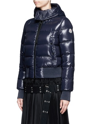 Front View - Click To Enlarge - Moncler - 'Sotiria' cropped puffer down jacket
