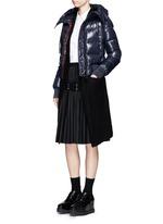 'Sotiria' cropped puffer down jacket