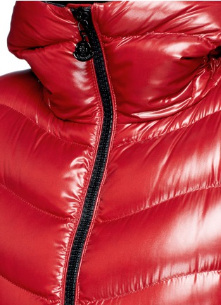 Detail View - Click To Enlarge - Moncler - 'Anthia' hooded puffer down jacket