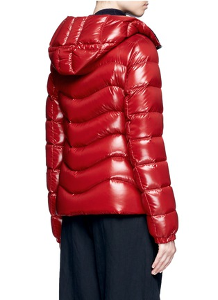 Back View - Click To Enlarge - Moncler - 'Anthia' hooded puffer down jacket