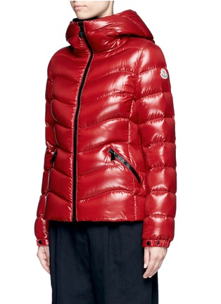 Front View - Click To Enlarge - Moncler - 'Anthia' hooded puffer down jacket