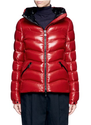 Main View - Click To Enlarge - Moncler - 'Anthia' hooded puffer down jacket