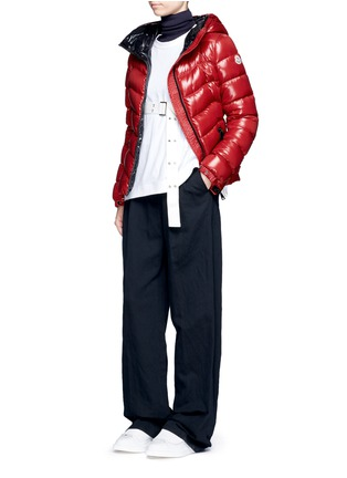 Figure View - Click To Enlarge - Moncler - 'Anthia' hooded puffer down jacket