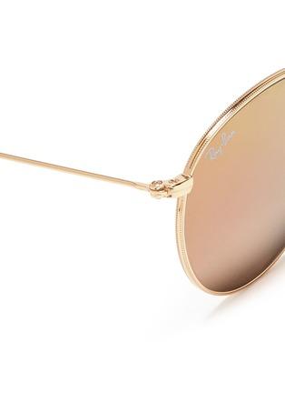 Ray-Ban-'Round Folding Flash' mirror sunglasses
