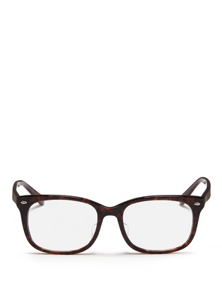 Ray Ban Accessories - 'RX5305' tortoiseshell square optical glasses