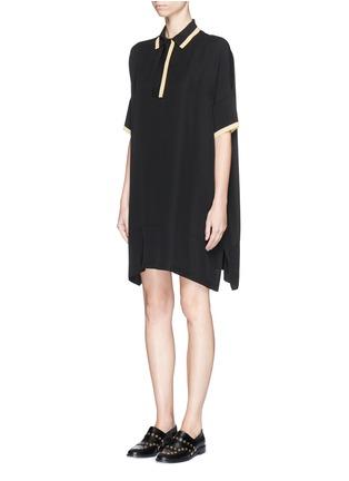 Figure View - Click To Enlarge - rag & bone - 'Dana' silk tunic shirt dress