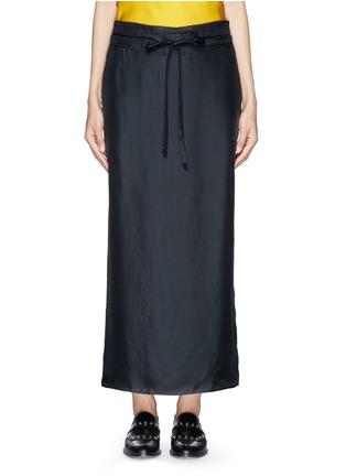 Main View - Click To Enlarge - rag & bone - 'Cove' drawstring waist silk faille skirt