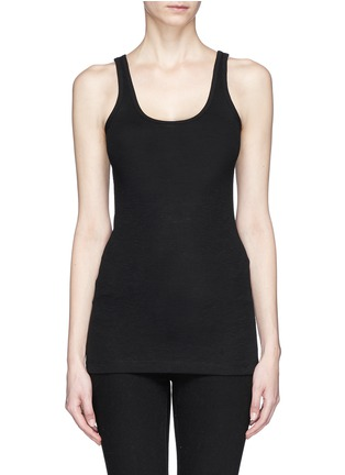 Main View - Click To Enlarge - Vince - Cotton-modal tank top