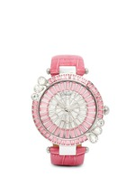 'Marguerite' crystal dial watch
