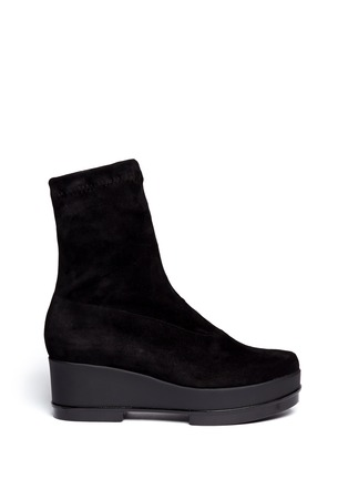 Main View - Click To Enlarge - Robert Clergerie - 'You' suede ankle boots