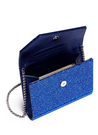 Detail View - Click To Enlarge - Jimmy Choo - 'Candy' glitter acrylic clutch