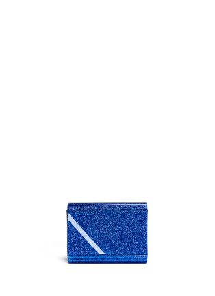 Back View - Click To Enlarge - Jimmy Choo - 'Candy' glitter acrylic clutch