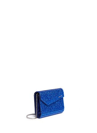 Front View - Click To Enlarge - Jimmy Choo - 'Candy' glitter acrylic clutch