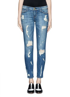 CURRENT/ELLIOTT 'The Stiletto' distressed jeans