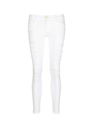 Main View - Click To Enlarge - Frame Denim - 'Le Skinny de Jeanne' ripped jeans