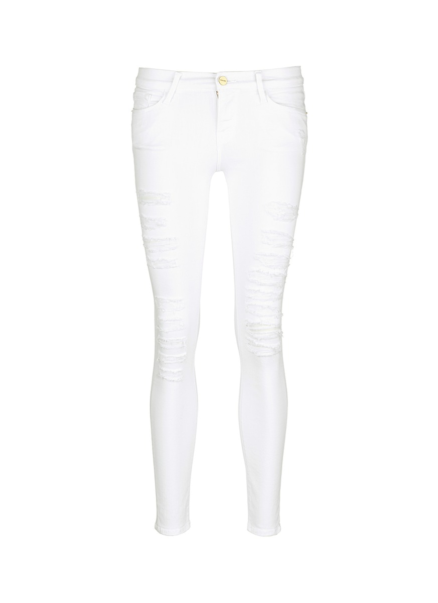 White Jeans For Tall Women