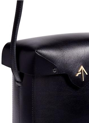 - MANU Atelier - 'Pristine' mini leather crossbody bag
