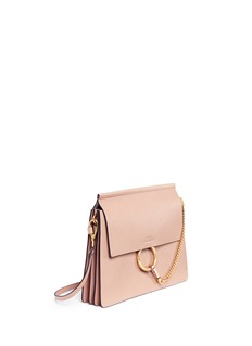 Chloé 'Faye' medium goatskin leather shoulder bag