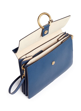 Detail View - Click To Enlarge - Chloé - 'Faye' medium flap leather shoulder bag