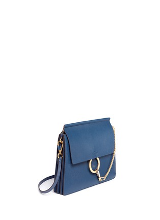 Figure View - Click To Enlarge - Chloé - 'Faye' medium flap leather shoulder bag