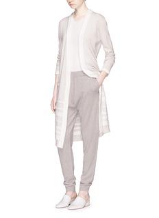 AGNONA羊绒针织休闲裤