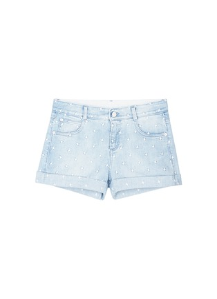 Main View - Click To Enlarge - Stella McCartney - 'Tomboy' star embroidered denim shorts