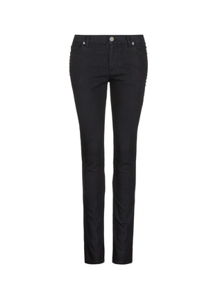 Main View - Click To Enlarge - Valentino - 'Rockstud Untitled 06 Noir' skinny jeans