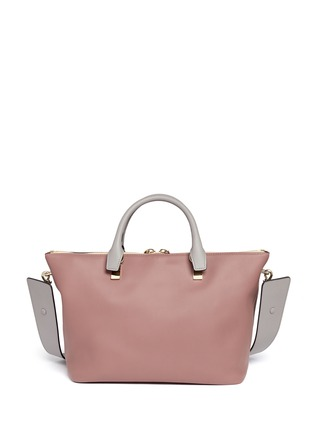Back View - Click To Enlarge - Chloé - 'Baylee' small leather tote