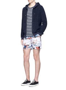 Orlebar Brown'Brodie' cotton towelling zip hoodie