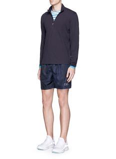 Orlebar Brown'Franco' piqué jersey long sleeve T-shirt