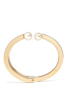 Chloé'Darcey' Swarovski pearl tiered cuff