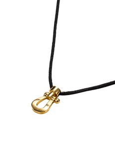 Fred 'Force 10' 18k yellow gold small pendant necklace