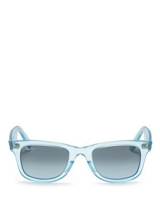 Main View - Click To Enlarge - Ray-Ban - 'Original Wayfarer Ice Pop' sunglasses