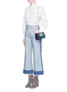 See by Chloé'Lois' metallic sequin chain bag