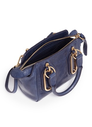 Detail View - Click To Enlarge - See by Chloé - 'Paige' mini textured leather crossbody bag
