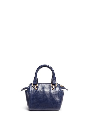 Back View - Click To Enlarge - See by Chloé - 'Paige' mini textured leather crossbody bag