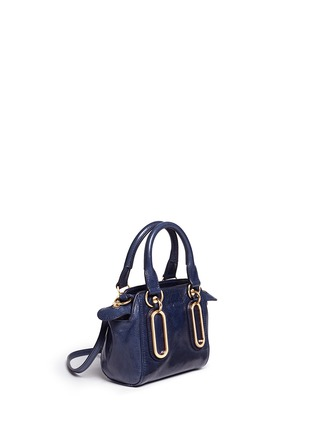Front View - Click To Enlarge - See by Chloé - 'Paige' mini textured leather crossbody bag