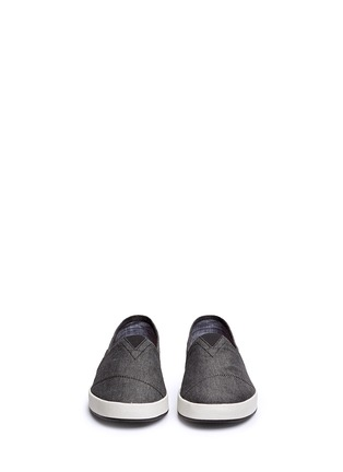 Front View - Click To Enlarge - TOMS - 'Avalon' chambray slip-ons