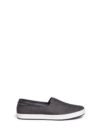 Main View - Click To Enlarge - TOMS - 'Avalon' chambray slip-ons