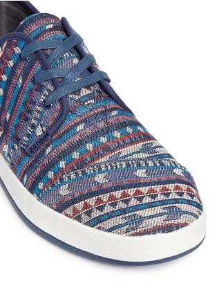 Detail View - Click To Enlarge - TOMS - 'Paseo' tribal woven sneakers