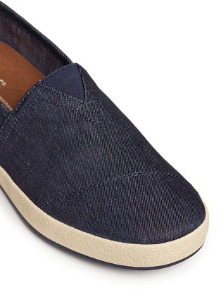 Detail View - Click To Enlarge - TOMS - 'Avalon' denim slip-ons
