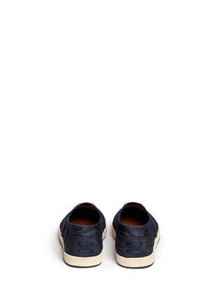 Back View - Click To Enlarge - TOMS - 'Avalon' denim slip-ons