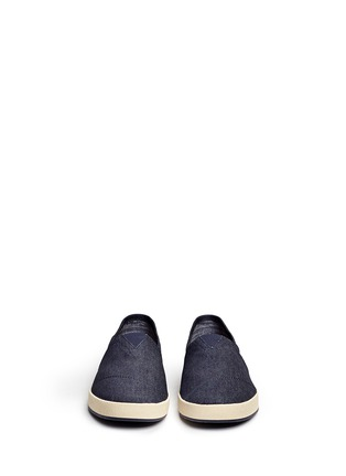 Front View - Click To Enlarge - TOMS - 'Avalon' denim slip-ons