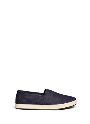 Main View - Click To Enlarge - TOMS - 'Avalon' denim slip-ons