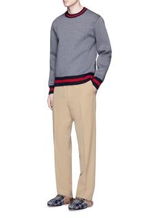 Gucci Wide leg wool pants