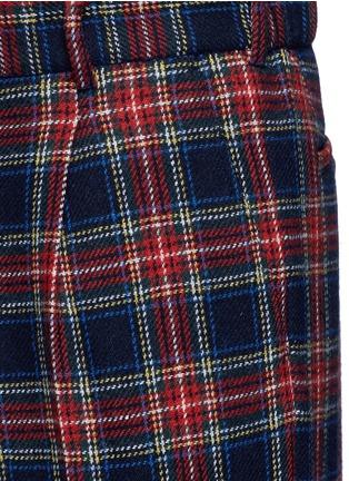Detail View - Click To Enlarge - Gucci - Tartan plaid pyjama pants