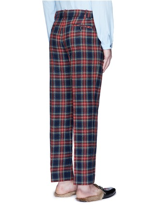 Back View - Click To Enlarge - Gucci - Tartan plaid pyjama pants