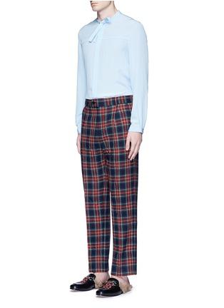 Figure View - Click To Enlarge - Gucci - Tartan plaid pyjama pants